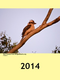 Winged Hearts Calendar 2014